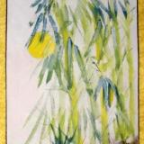 """Sunny Bamboo (29""""X14"""")-SOLD"""