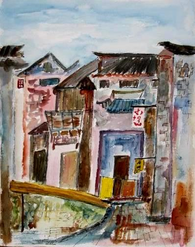 Tunxi Old Town, China