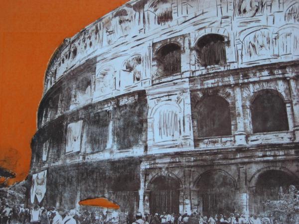 Italian Orange                  (Intaglio Lim Ed 1/3)