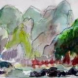 Wu Gorge,  (Mini Painting)