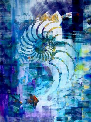 Secrets of a Nautilus-(SOLD)