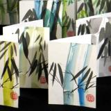 """Lucky Bamboo"" blank note cards"