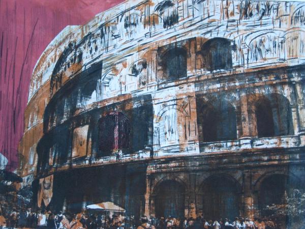 Colosseum Vision           (Intaglio-1/1)