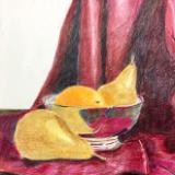 Silver Fruit Bowl